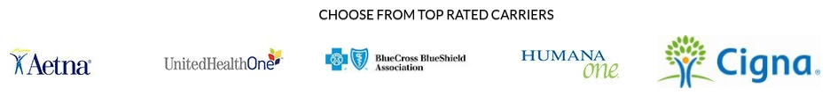 Choose from Top Rated Carriers