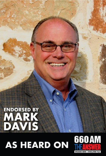Endorsed by Mark Davis